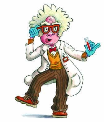 DNA Dinky Amigos Mad Scientist